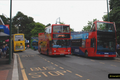 2019-07-18 More Yellow Buses Number 2 (58) Bournemouth Square 1230 to 1330 and journey home. 058