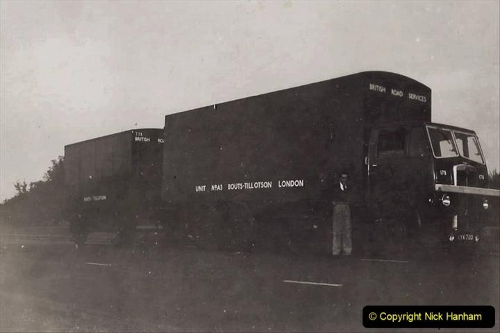My Late Stepfather Jocelyn Hanham. (36) Waterden Road, London Depot. 1950. 036