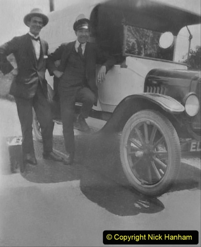 My Late Stepfather Jocelyn Hanham. (5) Just passed his driving exam 1925. 005