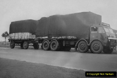 My Late Stepfather Jocelyn Hanham. (34) Newcastle under Lyme with 24 ton load. 1950. 034