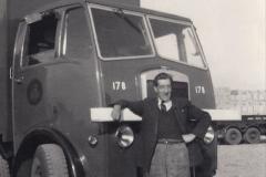 My Late Stepfather Jocelyn Hanham. (40) Waterden Road, London Depot. 1957. 040