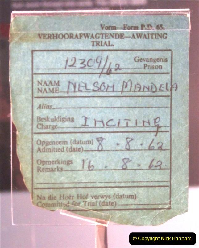 2019-04-29 Nelson Mandella Prisoner 46664. (68) 001
