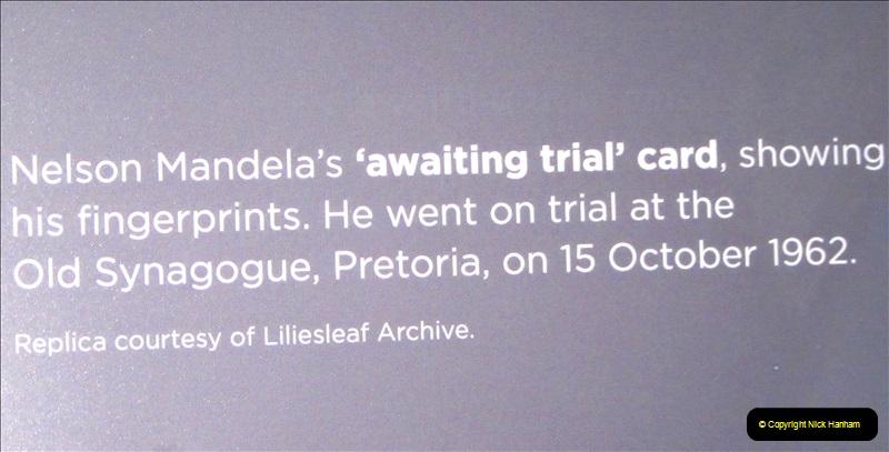 2019-04-29 Nelson Mandella Prisoner 46664. (69) 001