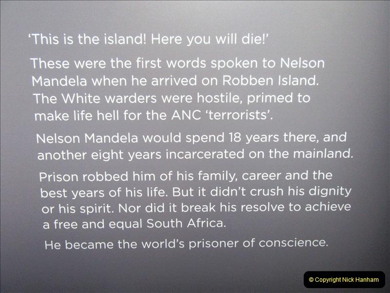 2019-04-29 Nelson Mandella Prisoner 46664. (72) 001