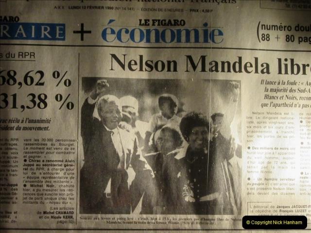 2019-04-29 Nelson Mandella Prisoner 46664. (111) 001