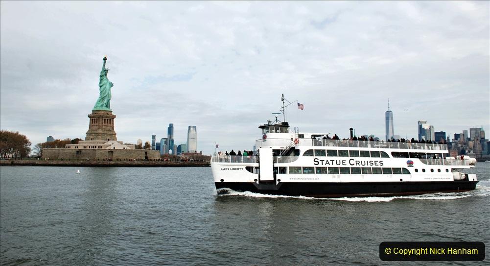 2019-11-10 New York. (210) Leaving Liberty Island foe Ellis Island. 210