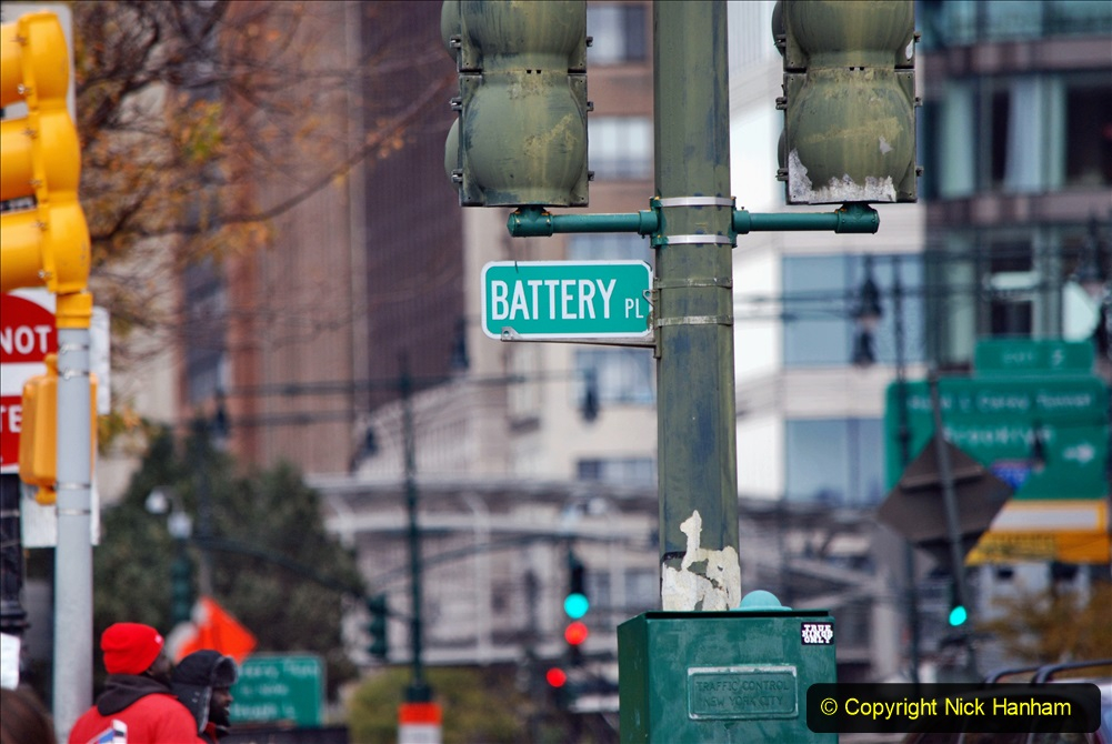 2019-11-10 New York. (313) Manhatten Battery area. 313