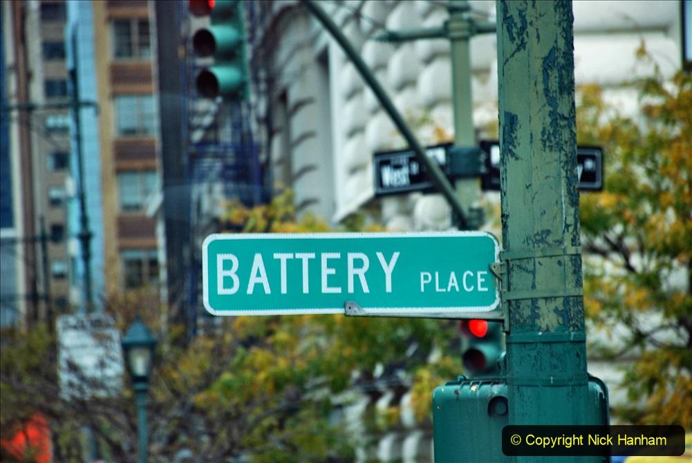 2019-11-10 New York. (321) Manhatten Battery area. 321