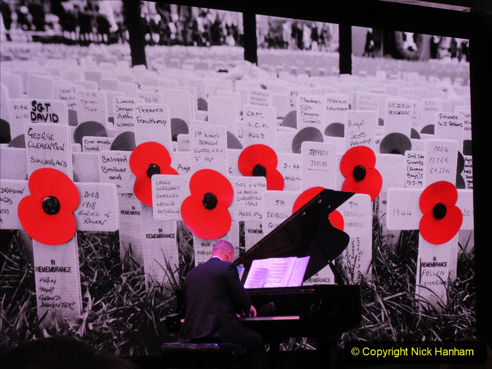 2019-11-10 New York. (433) Rememberance day evening service for Monday 11 November on Queen Mary. 433