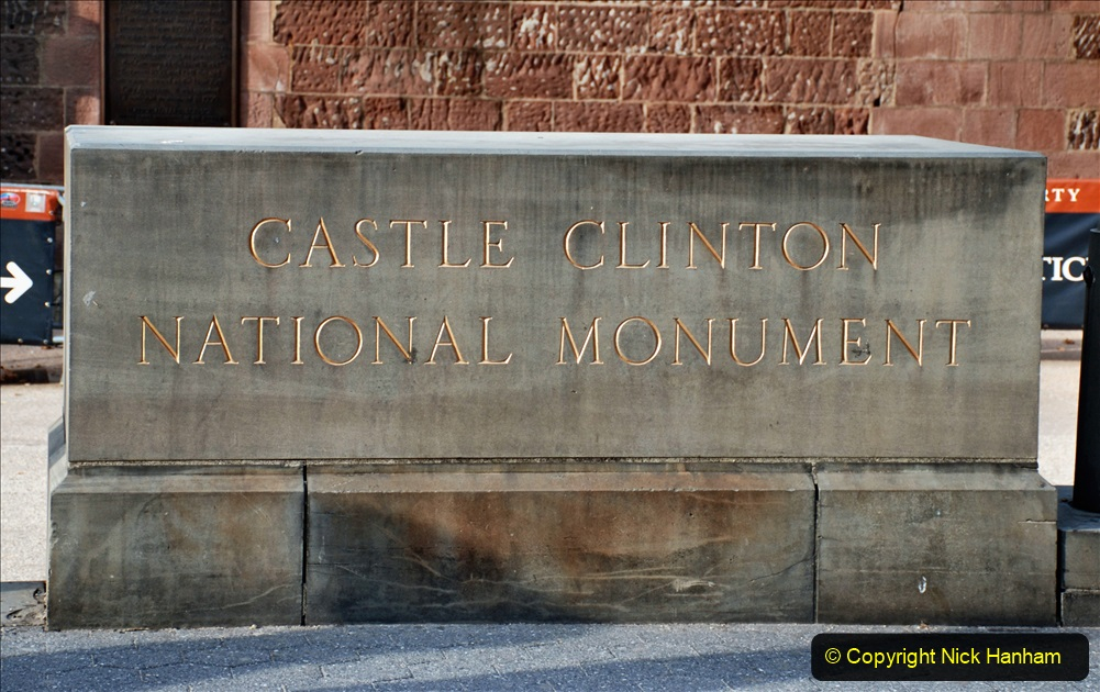 2019-11-10 New York. (97) Castle Clinton. 097