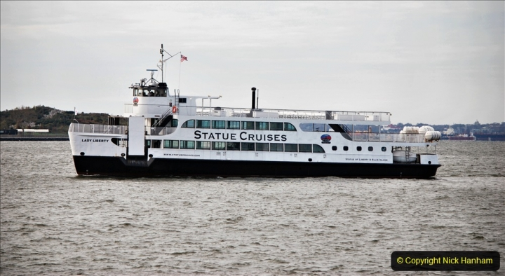 2019-11-10 New York. (106) Boarding our boat for Liberty Island. 106