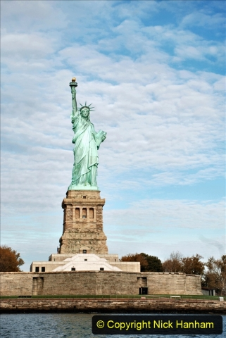 2019-11-10 New York. (144) On the wat to Liberty Island. The Statue of Liberty. 144