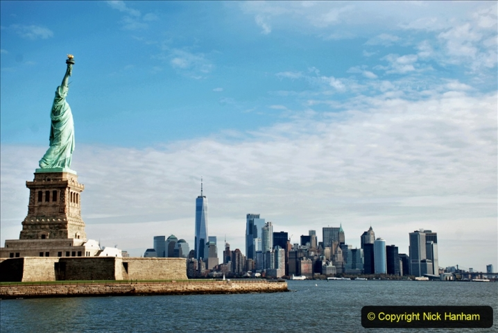 2019-11-10 New York. (145) On the wat to Liberty Island. The Statue of Liberty. 145