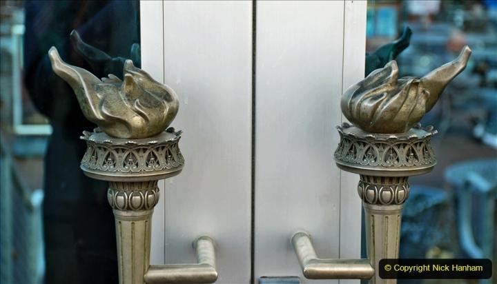 2019-11-10 New York. (187) Liberty Island. Note the torch door handles. 185
