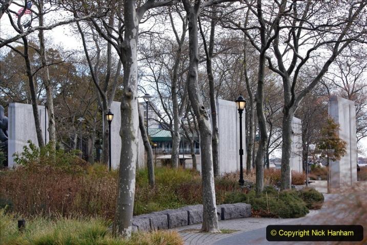 2019-11-10 New York. (310) 911 Names memorial on the Battery.310