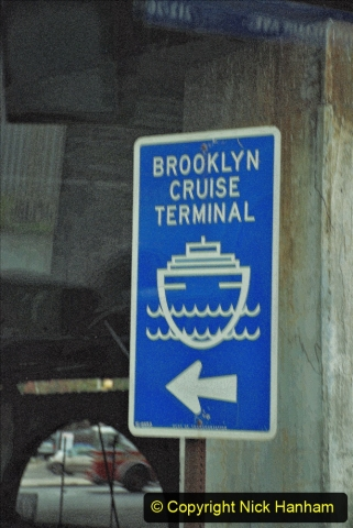2019-11-10 New York. (323) Returning to our ship. 323
