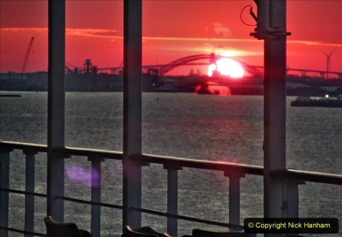 2019-11-10 New York. (403) Sunset New York style. 403
