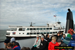 2019-11-10 New York. (110) Boarding our boat for Liberty Island. 110