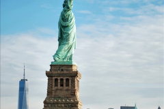 2019-11-10 New York. (147) On the wat to Liberty Island. The Statue of Liberty. 147
