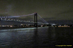 2019-11-10 New York. (4) New York arrival on Queen Mary. The Verrazzano-Narrows Bridge. 004