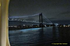 2019-11-10 New York. (5) New York arrival on Queen Mary. The Verrazzano-Narrows Bridge. 005