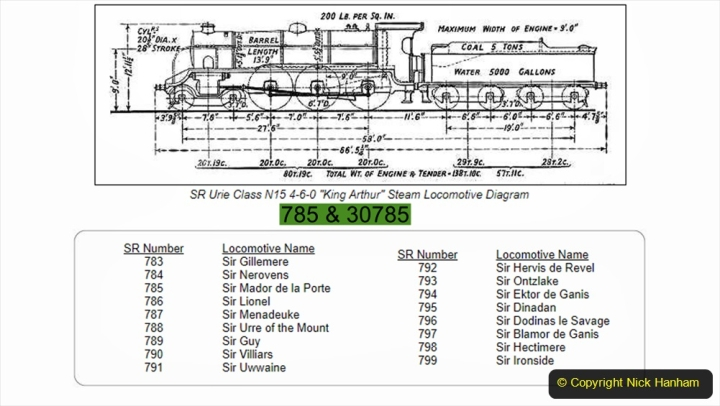 2020-06-03 King Arthur Class 30785 Sir Mador de la Porte. (2) 212