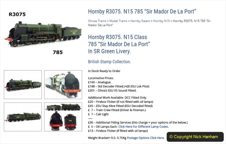 2020-06-03 King Arthur Class 30785 Sir Mador de la Porte. (7)217
