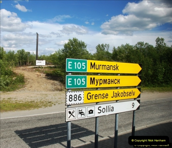 2013-06-22 Kirkenes and the Russian Border, Norway.  (95)095