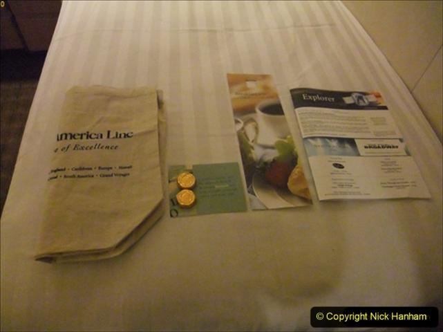 2012-05-13 to 20 Norway Cruise. On board towel folding. food & crew good bye.  (1)074