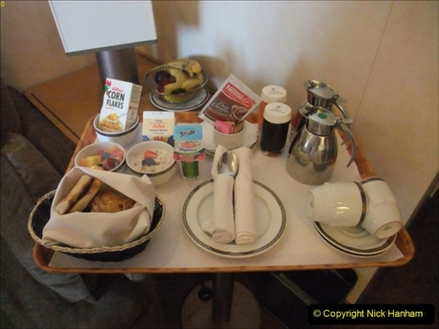 2012-05-13 to 20 Norway Cruise. On board towel folding. food & crew good bye.  (25)098