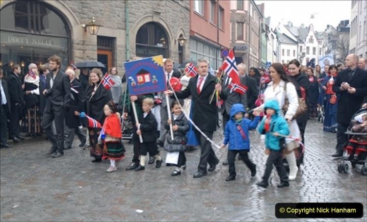 2012-05-17 Norway Cruise. Alesund on Norway Constitution Day.  (25)462