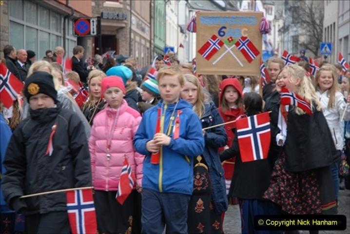 2012-05-17 Norway Cruise. Alesund on Norway Constitution Day.  (36)473