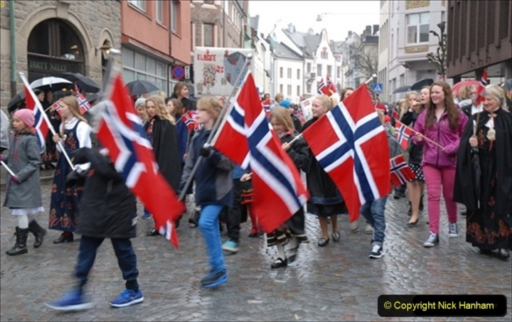 2012-05-17 Norway Cruise. Alesund on Norway Constitution Day.  (5)442