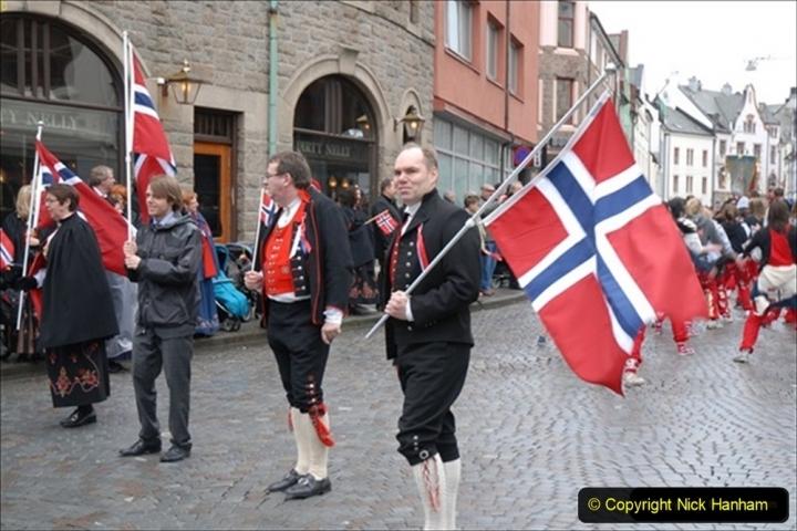 2012-05-17 Norway Cruise. Alesund on Norway Constitution Day.  (60)497