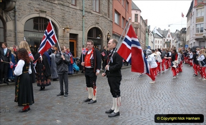 2012-05-17 Norway Cruise. Alesund on Norway Constitution Day.  (61)498