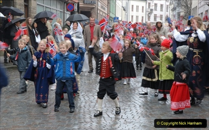 2012-05-17 Norway Cruise. Alesund on Norway Constitution Day.  (6)443
