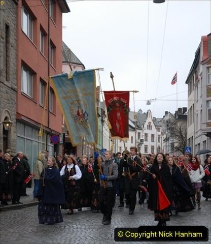 2012-05-17 Norway Cruise. Alesund on Norway Constitution Day.  (67)504