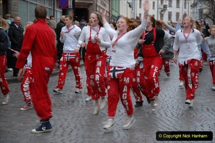 2012-05-17 Norway Cruise. Alesund on Norway Constitution Day.  (72)509