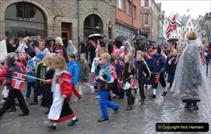 2012-05-17 Norway Cruise. Alesund on Norway Constitution Day.  (7)444