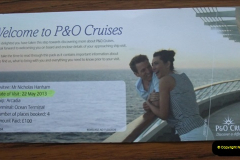 P&O Arcadia Visit 22 May 2012
