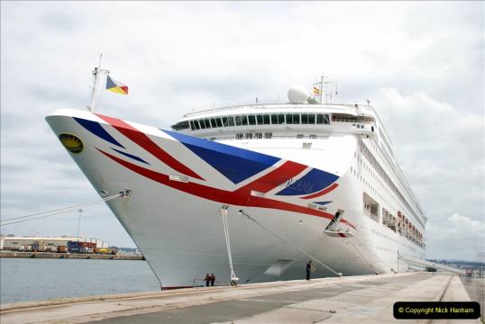 P and O Cruise on Oriana 1