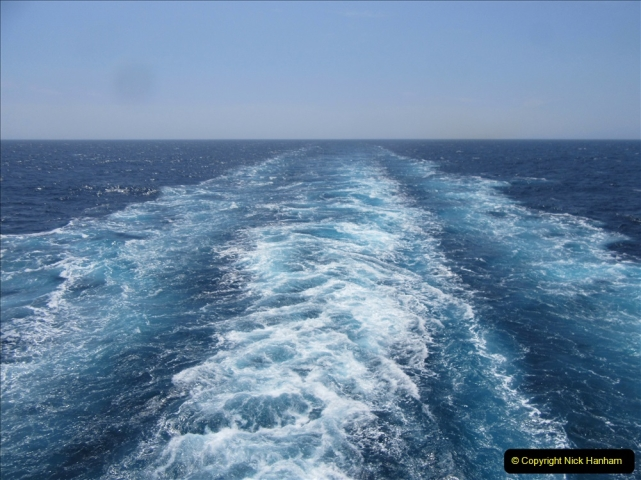 2019 June 28 to 05 July P&O MV Oriana France, Spain and Guernsey. (164) Second day at sea. 164
