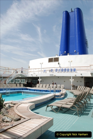 2019 June 28 to 05 July P&O MV Oriana France, Spain and Guernsey. (26) A look around the ship. 026