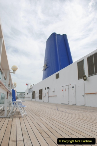 2019 June 28 to 05 July P&O MV Oriana France, Spain and Guernsey. (27) A look around the ship. 027