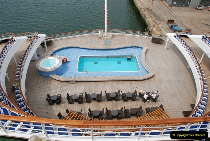 2019 June 28 to 05 July P&O MV Oriana France, Spain and Guernsey. (36) A look around the ship. 036
