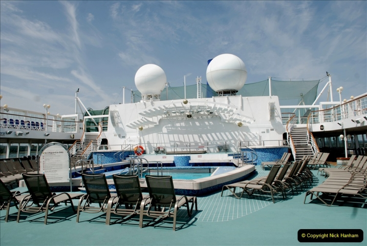 2019 June 28 to 05 July P&O MV Oriana France, Spain and Guernsey. (39) A look around the ship. 039