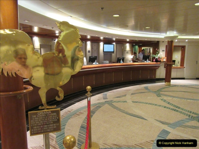 2019 June 28 to 05 July P&O MV Oriana France, Spain and Guernsey. (56) A look around the ship. 056