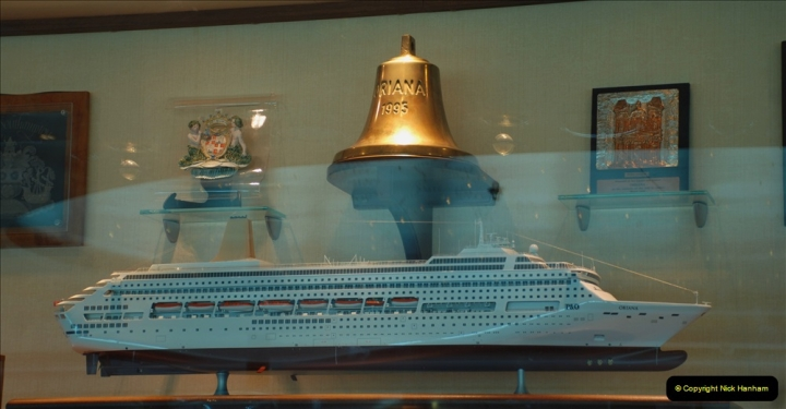 2019 June 28 to 05 July P&O MV Oriana France, Spain and Guernsey. (83) A look around the ship. 083