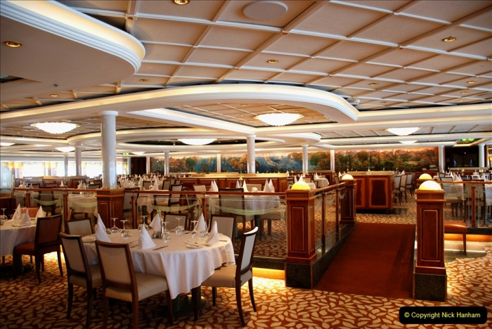 2019 June 28 to 05 July P&O MV Oriana France, Spain and Guernsey. (89) A look around the ship. 089