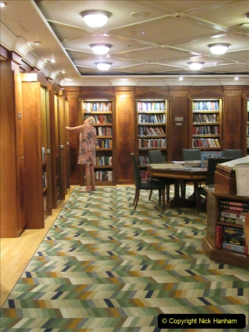 2019 June 28 to 05 July P&O MV Oriana France, Spain and Guernsey. (93) A look around the ship. 093